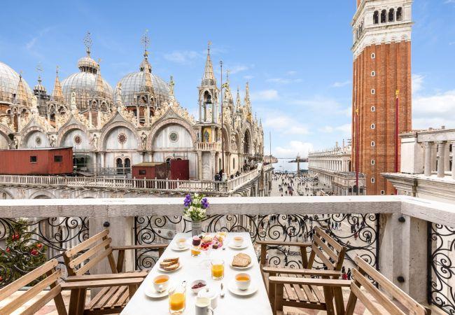 in Venezia - Due Leoni Luxus-Mietwohnung in St. Mark's Square